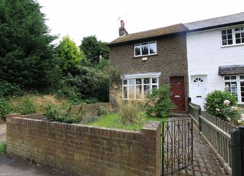 Thumbnail 2 bedroom end terrace house to rent in Mill Lane, Hurst Green, Oxted, Surrey