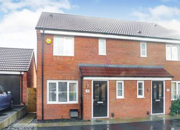 Thumbnail 3 bed semi-detached house for sale in Spitfire Way, Hucknall, Nottingham