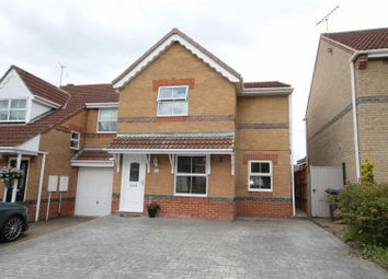 Thumbnail 3 bed semi-detached house for sale in Milburn Way, Howden Le Wear, Crook