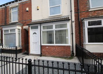 Thumbnail 2 bed terraced house to rent in Clive Vale, Estcourt Street, Hull