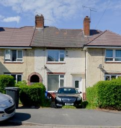 Thumbnail 2 bed terraced house for sale in Swanbourne Road, Sheffield