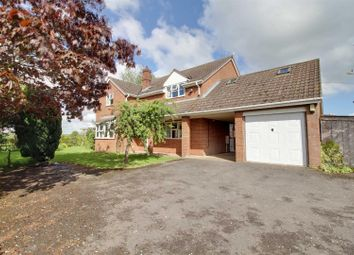 Thumbnail 4 bed detached house to rent in Malswick, Newent