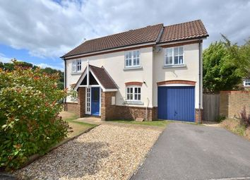 Thumbnail 4 bedroom detached house for sale in Danvers Drive, Church Crookham, Fleet