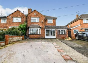 Thumbnail 3 bed semi-detached house for sale in Rydding Lane, West Bromwich, West Midlands