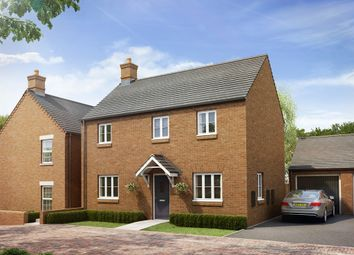 "Thumbnail 3 bed detached house for sale in ""The Radstone Bay"" at Heathencote, Towcester"