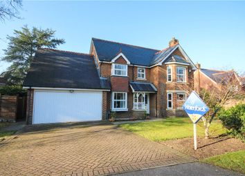 Thumbnail 4 bed detached house for sale in Knox Close, Church Crookham, Fleet