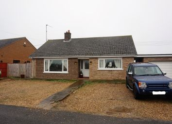 Thumbnail 3 bed detached bungalow for sale in Emneth, Wisbech