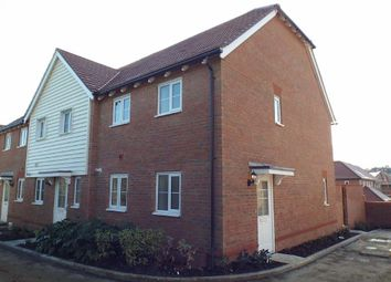 Thumbnail 2 bed end terrace house to rent in The Spinners, Burfield Valley, Hailsham