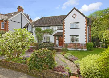 Thumbnail 4 bed detached house for sale in The Crosspath, Radlett
