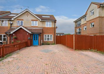 Thumbnail 2 bed terraced house for sale in Swanfield Drive, Chichester