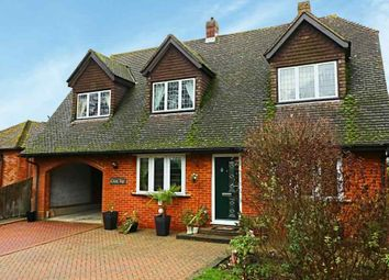 Thumbnail 5 bed detached house for sale in New Road, Pamber Green, Tadley