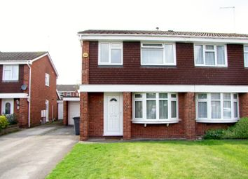 Thumbnail 3 bed semi-detached house for sale in Halcyon Way, Burton-On-Trent