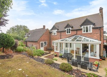 Thumbnail 4 bed detached house for sale in Queens Road, Kingsclere, Newbury, West Berkshire