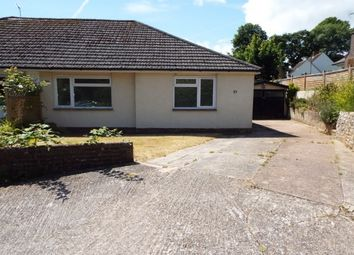 Thumbnail 3 bedroom bungalow to rent in Seaton Down Road, Seaton