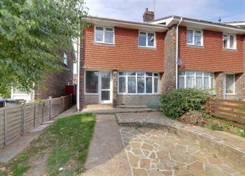 Osmonde Close, Worthing BN14. 3 bed end terrace house