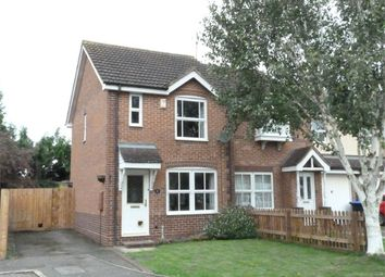 Thumbnail 2 bed semi-detached house for sale in Robinia Close, Lutterworth