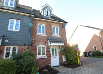 Thumbnail 3 bedroom end terrace house for sale in Saffron Crescent, Sawbridgeworth