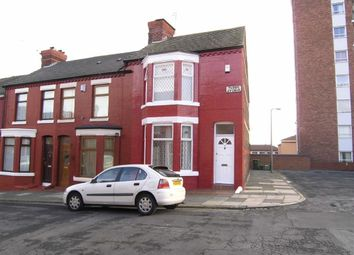 Thumbnail 2 bedroom terraced house to rent in Tudor Avenue, Wallasey, Wirral