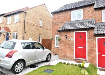 Thumbnail 2 bed semi-detached house for sale in Pickhills Grove, Goldthorpe, Rotherham