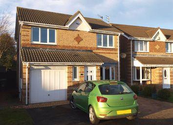 Thumbnail 3 bed detached house for sale in Brunton Way, Cramlington