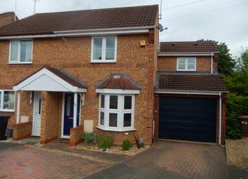 Thumbnail 3 bedroom semi-detached house for sale in Farriers Court, Orton Longueville, Peterborough