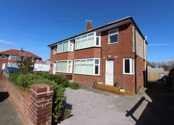 Thumbnail 3 bed semi-detached house for sale in Denbigh Avenue, Cleveleys