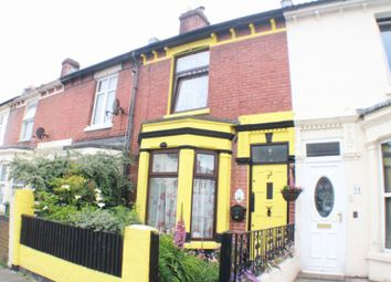 Thumbnail 3 bed terraced house for sale in North End Grove, Portsmouth
