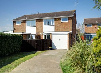 Thumbnail 3 bed property for sale in Coleridge Crescent, Goring-By-Sea, Worthing, West Sussex