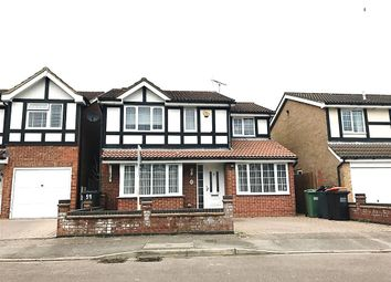 Thumbnail 4 bedroom detached house to rent in Milton Way, Houghton Regis, Dunstable