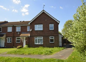 Thumbnail 1 bed end terrace house for sale in Holbrook Crescent, Felixstowe