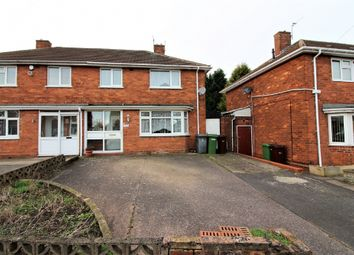 Thumbnail 3 bed semi-detached house for sale in Hylstone Crescent, Wednesfield, Wolverhampton
