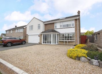 Thumbnail 4 bedroom detached house for sale in Churchill Avenue, Bourne