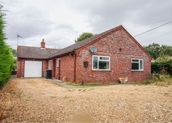 Thumbnail 3 bed detached bungalow for sale in Walpole Marsh, Wisbech