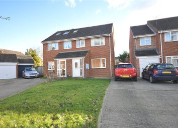 Thumbnail 3 bed semi-detached house for sale in Rowton Heath Way, Freshbrook, Swindon, Wiltshire