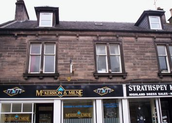 Thumbnail 1 bed flat to rent in New Street, Rothes, Moray