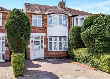 Thumbnail 4 bed semi-detached house for sale in Seaford Road, Aylestone, Leicester
