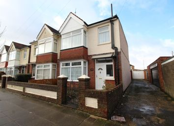 Thumbnail 3 bed semi-detached house for sale in Lyndhurst Road, Portsmouth