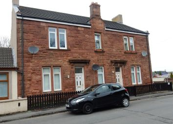 Thumbnail 3 bed flat for sale in Young Street, Wishaw