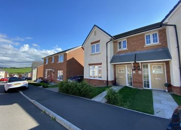 Thumbnail 3 bed semi-detached house for sale in Highfields, Coedely -, Tonyrefail