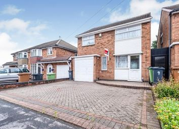 Thumbnail 3 bed detached house for sale in Foxwood Avenue, Great Barr, Birmingham, West Midlands
