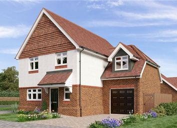 Thumbnail 4 bed detached house for sale in 1 Campbell Close, Reigate Road, Hookwood, Horley, Surrey