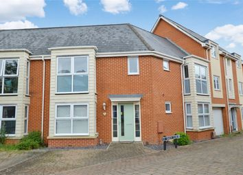 Thumbnail 3 bed terraced house for sale in St Simon Close, Queens Hill, Norwich