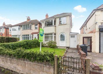Thumbnail 3 bed detached house for sale in Cranes Park Road, Sheldon, Birmingham