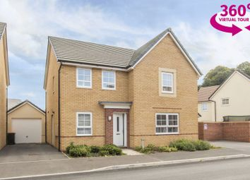 Thumbnail 4 bed detached house for sale in Stradling Road, Rogerstone, Newport