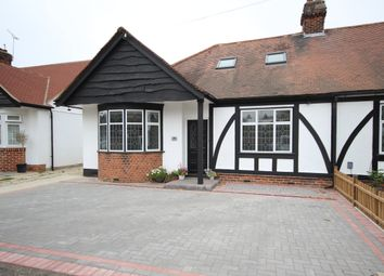 Thumbnail 4 bed bungalow to rent in Brackendale Gardens, Upminster
