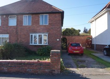 Thumbnail 2 bed semi-detached house for sale in Markham Road, Worksop