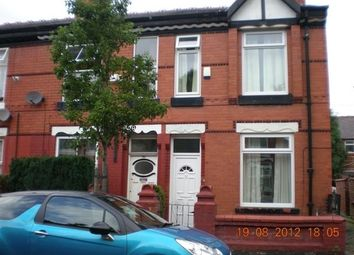 Thumbnail 3 bed terraced house to rent in Brompton Road, Manchester