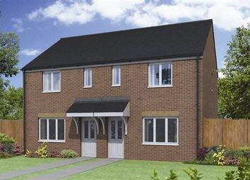 "Thumbnail 3 bed semi-detached house for sale in ""The Avebury"" at Otley Road, Beckwithshaw, Harrogate"