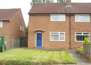 Thumbnail 3 bedroom semi-detached house for sale in Ormscliffe Road, Rednal