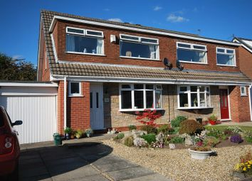 Thumbnail 3 bed semi-detached house for sale in Standfield Drive, Worsley, Manchester